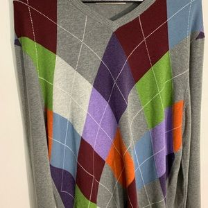 Old Navy Sweaters - Men's Old Navy Argyle Sweater Large